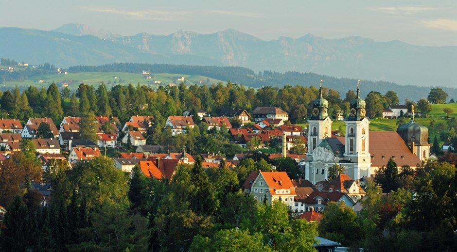 Lindenberg im Allgäu Ortsansicht