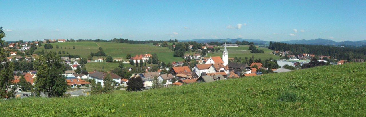 Markt Heimenkirch im Westallgäu Ortsansicht