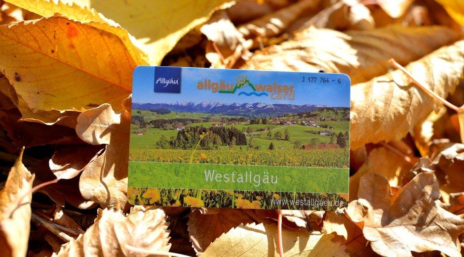 Allgäu Walser Card im Westallgäu