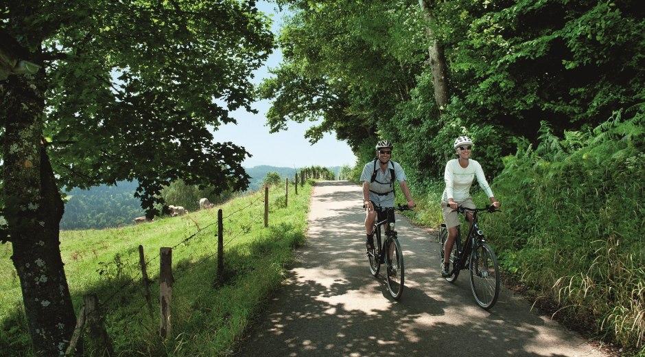 Die unzähligen Aussichten entlang der Radrunde Allgäu genießen. © Allgäu GmbH