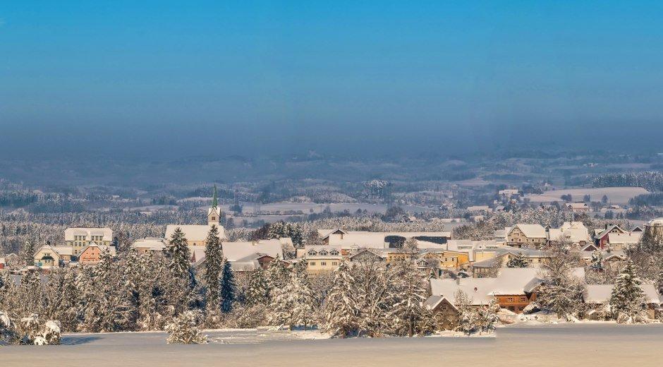 Opfenbach im Westallgäu Winterlandschaft