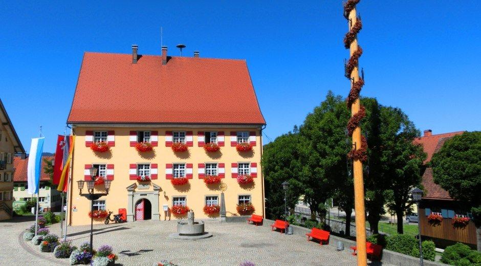 Rathaus der Gemeinde Weiler-Simmerberg