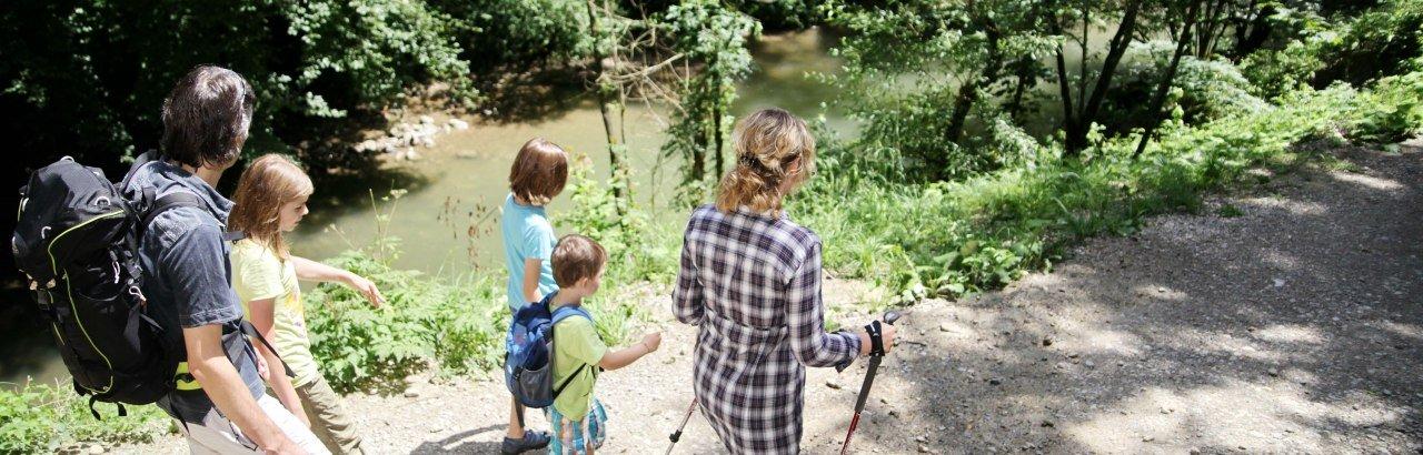 Wanderung mit Familien im Eistobel