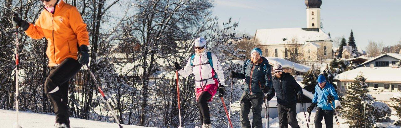 Schneeschuhwanderung durchs Westallgäu