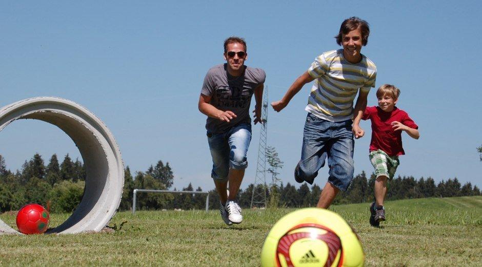 Fussballgolf in Opfenbach