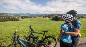 Eine Radtour durch die wunderschöne Landschaft des Westallgäus