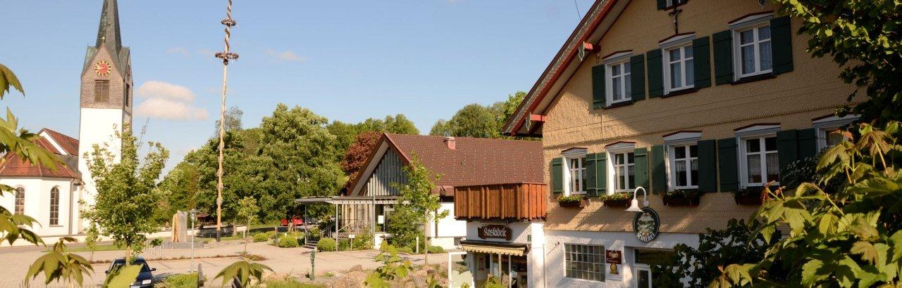 Gemeinde Gestratz im Westallgäu Ortsansicht