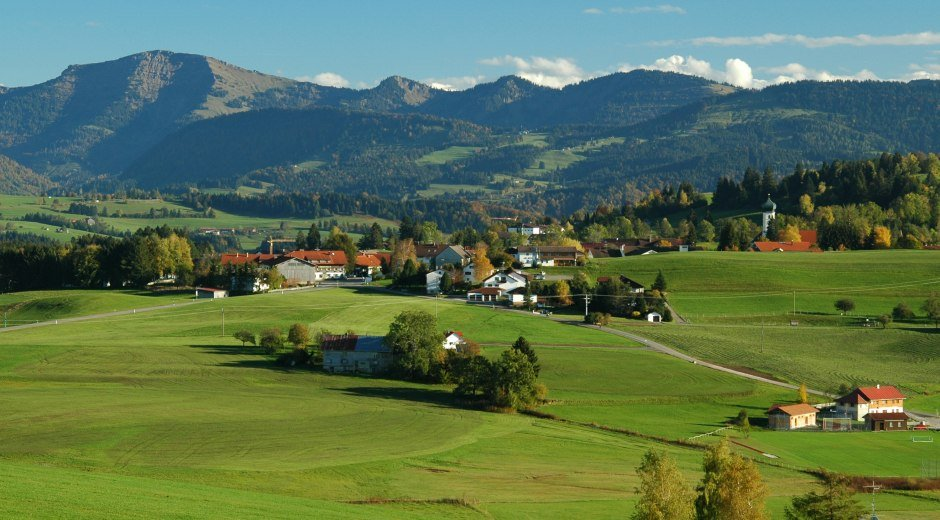 Alpenland Ausflugsziele im Westallgäu
