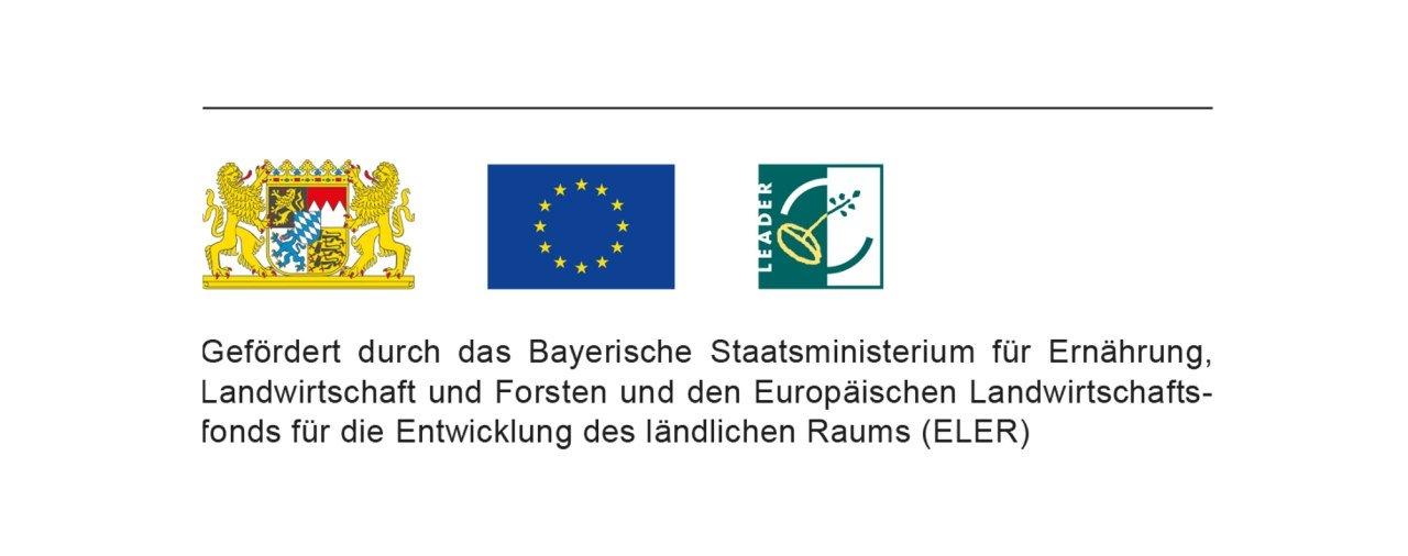 Förderhinweis LEADER Bild-Baustein