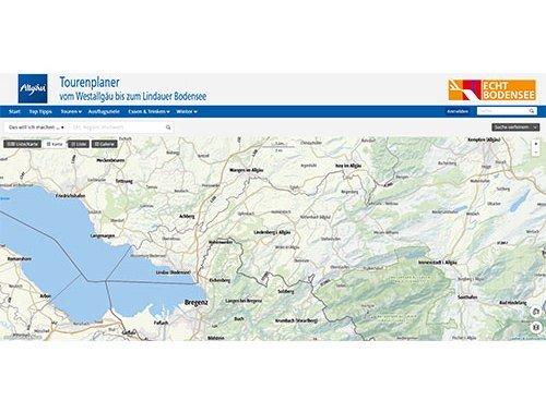 Tourenplaner für Alpstein Kartenausschnitt