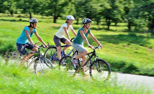 Radfahren im Westallgäu mit dem Fahrrad unterwegs