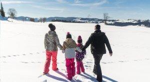 Entdecke neue Wintertouren für die ganze Familie © Frederick Sams, Landkreis Lindau (Bodensee)