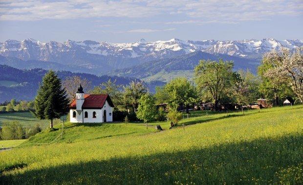 Kapelle Kraftquelle Allgäu