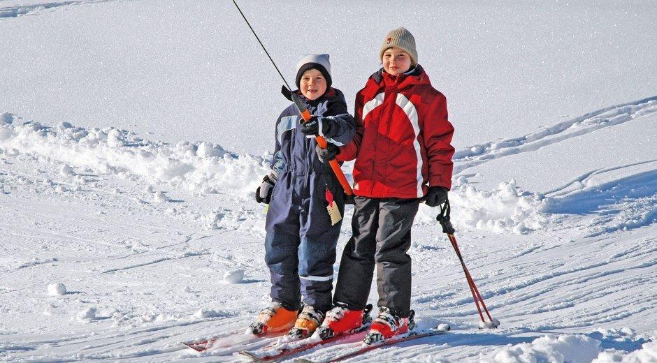 Winter Skifahren im Westallgäu